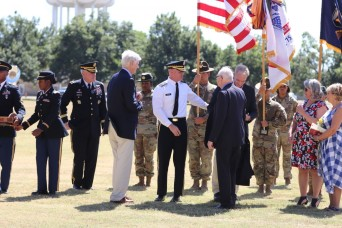 Fort Sill honors Maj. Gen. Brian Gibson with promotion ceremony