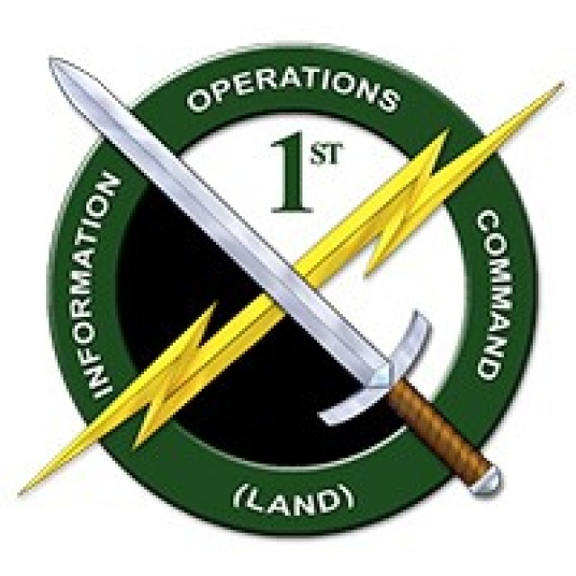 Full authority for 1st Information Operations Command (Land) transferred from the U.S. Army Intelligence and Security Command to U.S. Army Cyber Command on Oct. 1, 2021.
