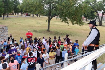 Frontier Army Days reconnects historic Fort Sill with area schoolchildren