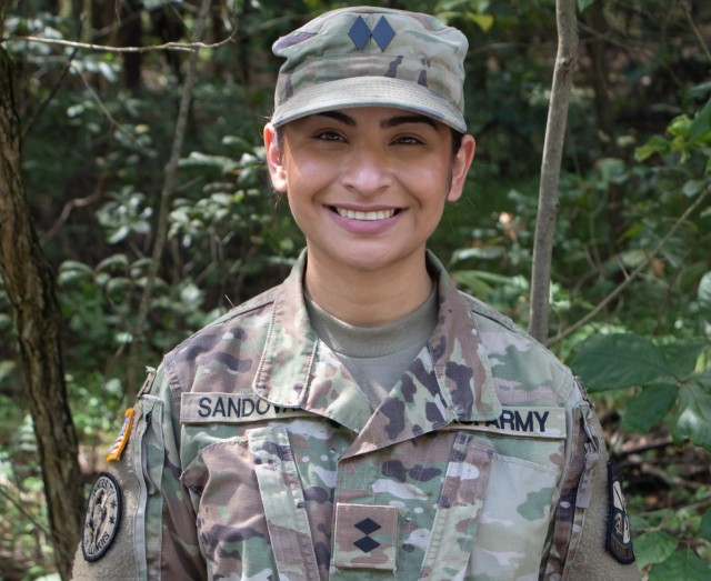 Cadet Lissette Sandoval is a senior at the University of Chicago-Illinois. She hopes to branch Military Intelligence after graduating in 2022.