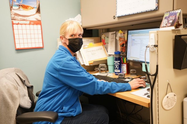 Martin Army Community Hospital's Department of Warrior Care Physician Assistant Jennifer Wampler works at Winder Clinic.