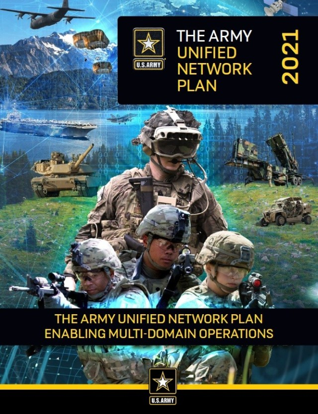 Army Unified Network Plan Cover Design
