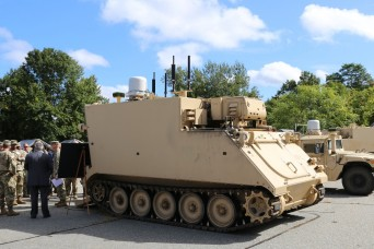 Army to pilot on-the-move network to enhance armored brigade lethality