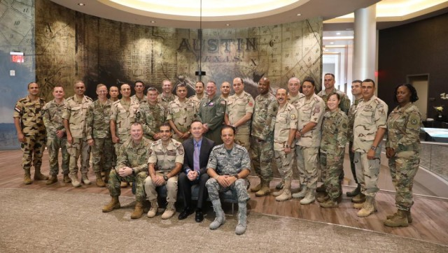 Texas National Guard hosts Egyptian Armed Forces for summit