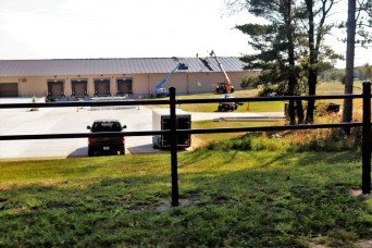 New shipping, receiving, mail freight facility construction continues at Fort McCoy