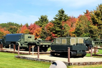 Fort McCoy's Equipment Park offers place to see history, fall colors in October