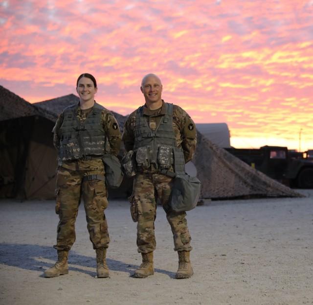 Minnesota Guard father, daughter serve together