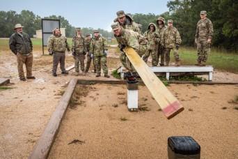 Future USACE leaders get taste of Army life at Fort Leonard Wood
