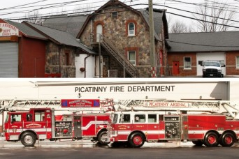Picatinny Arsenal Completes Fire Department Consolidation