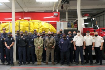 Sierra Army Depot firefighters honored at AMC, Army levels