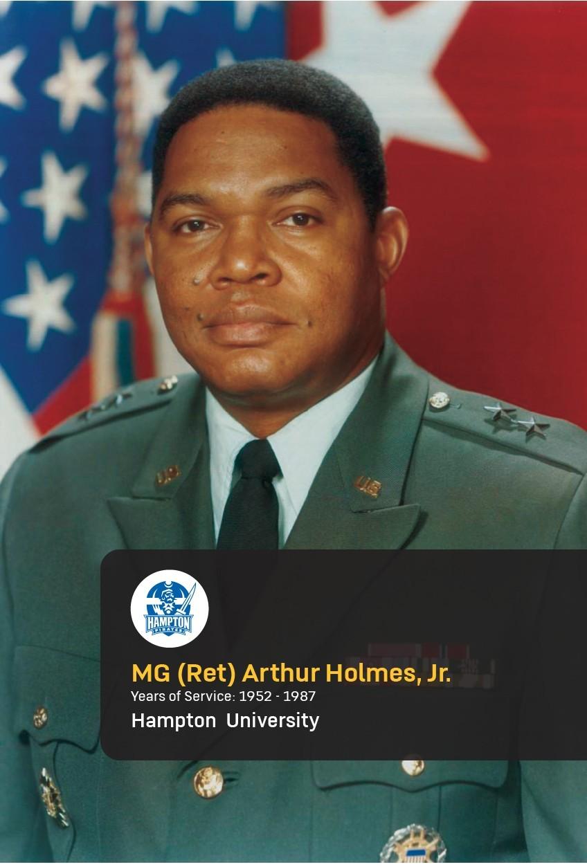 Maj. Gen. (Ret.) Arthur Holmes Jr.