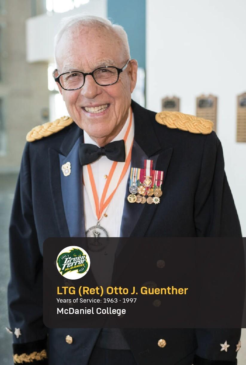 Lt. Gen. (Ret.) Otto Guenther