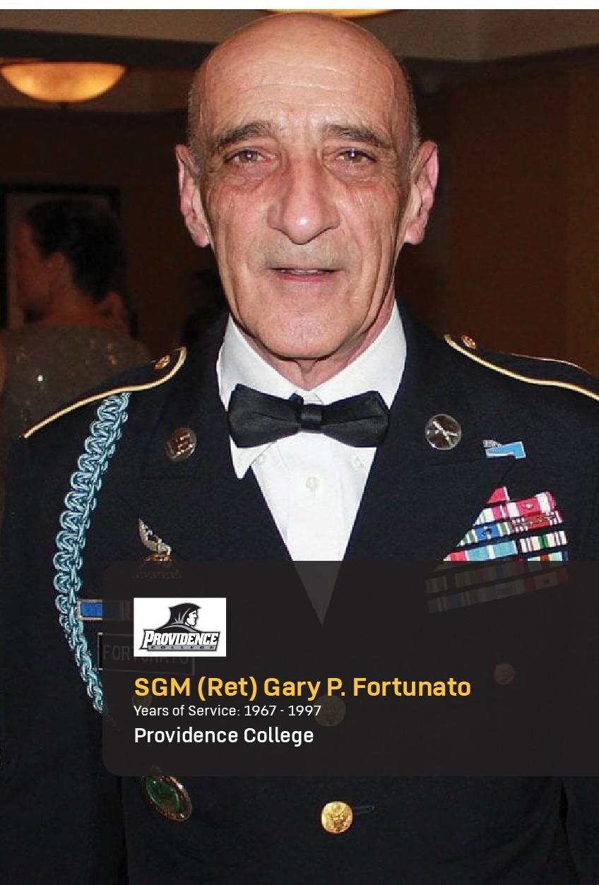 Sgt. Maj. (Ret.) Gary Fortunato