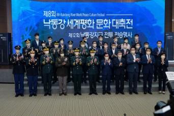South Korea/U.S. remember Korean War sacrifices during Nakdong River Battle ceremonies