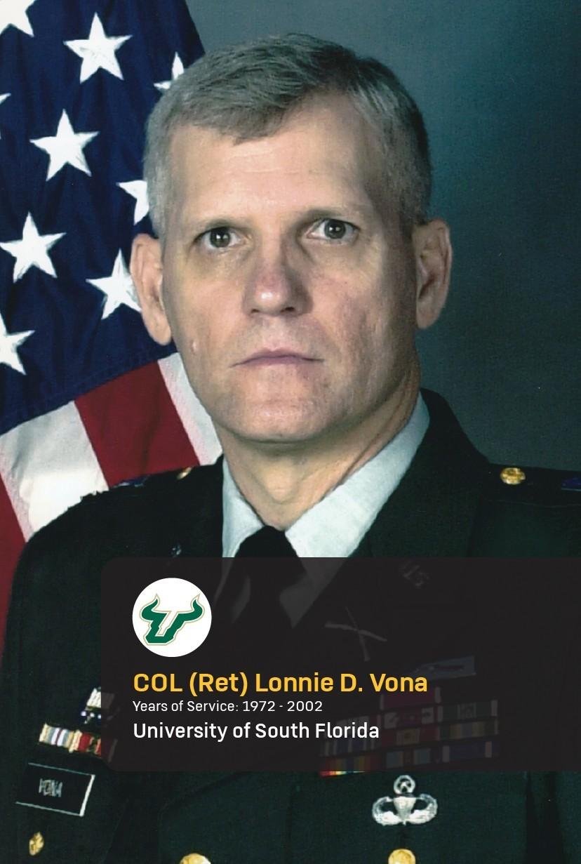 Col. (Ret.) Lonnie D. Vona