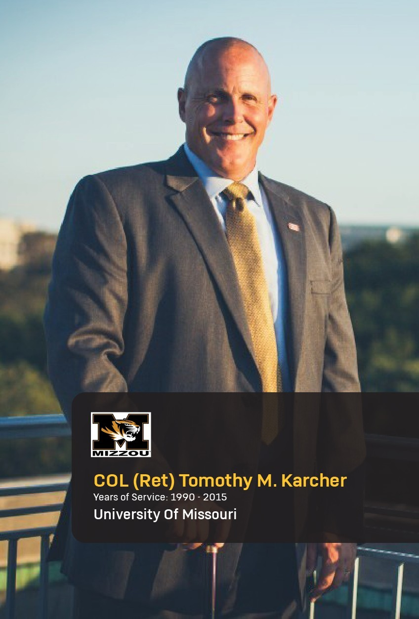 Col. (Ret.) Timothy Karcher