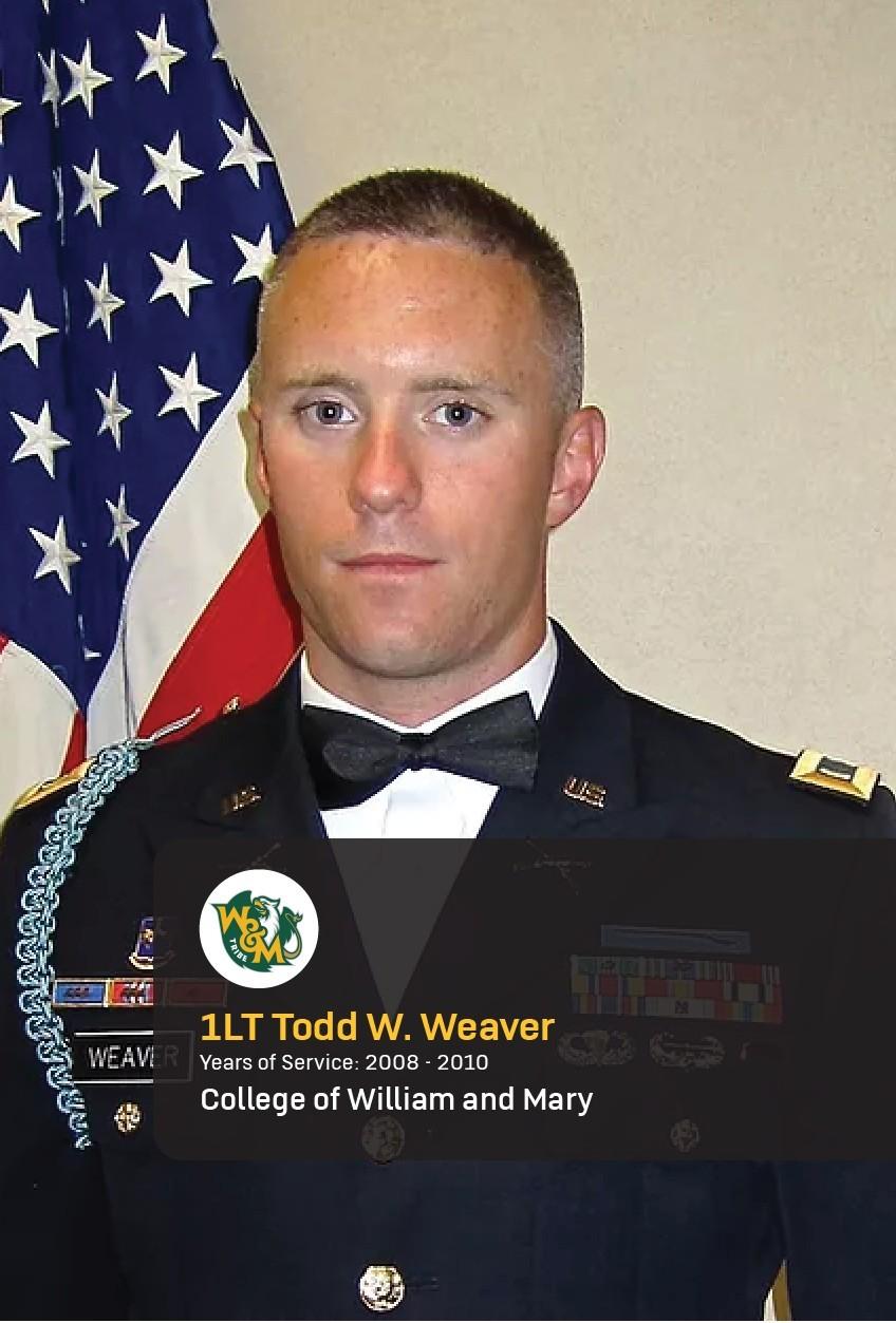1st Lt. Todd Weaver