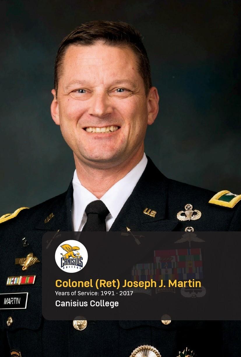 Col. (Ret.) Joseph Martin