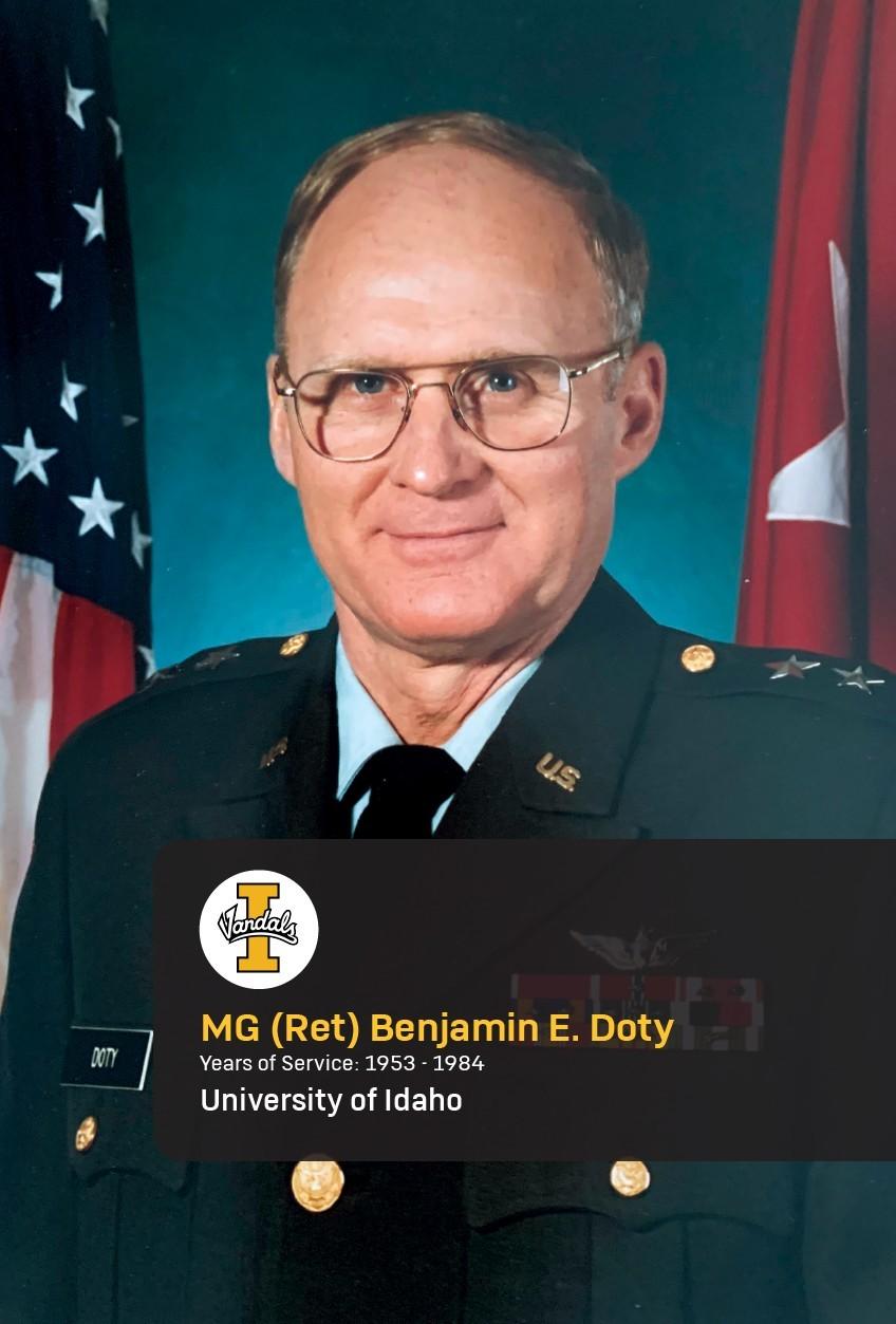 Maj. Gen. (Ret.) Benjamin Doty