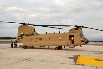 AMCOM executes delivery of two CH-47F Chinook helicopters to Australia Defense Force