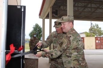 Fort Sill cuts ribbon on new Stinger Training Dome