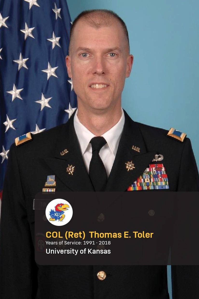 Col. (Ret.) Eric Toler